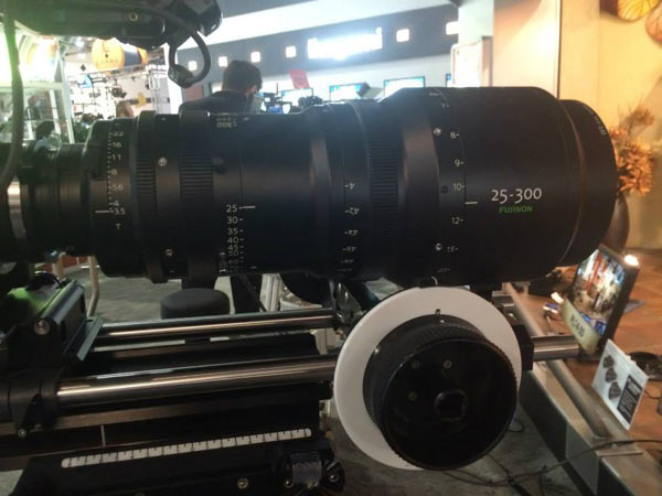 Fujinon Premier PL 25-300mm Cabrio lens