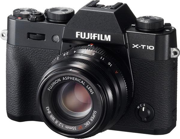 Fujinon XF35mm F2 lens on Fujifilm X-T10 camera