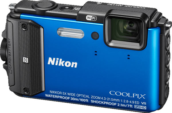 Nikon COOLPIX AW130, blue