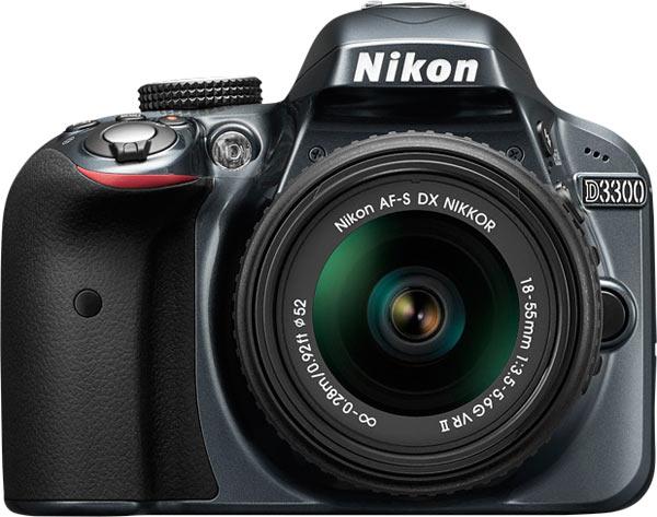 Nikon D3300, grey