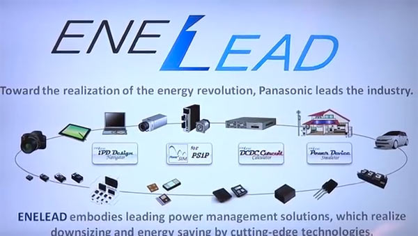 Panasonic's revolutionary GaN power devices for different applications including cameras, smart grid, home and industrial automation, as well as power generation, distribution and storage.