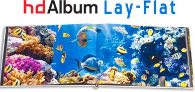 hdAlbum Lay-Flat album