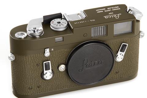 Leica M4 olive: lot 78