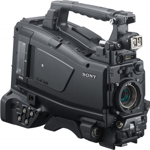 Sony PXW-X400: body-only, no lens or viewfinder