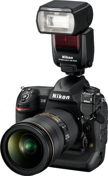 Nikon D5 with Speedlight SB-5000