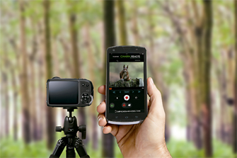 FinePix XP90: Wireless connectivity for instant image and movie sharing