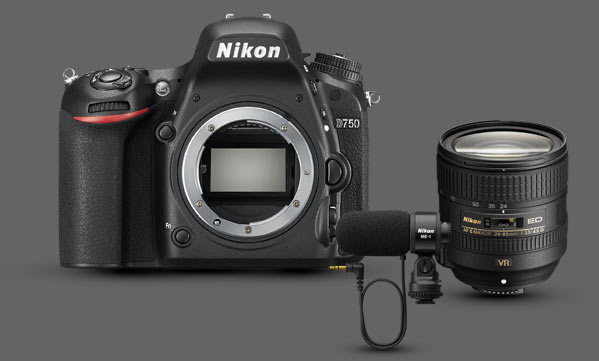 Winners of the People's Choice, Technical Excellence, Narrative, Best Student Entry shall be awarded a D750 kit made up of a D750 body, a 24-85VR lens, and an ME-1 microphone worth €2,300