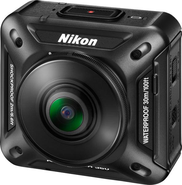 Nikon KeyMission 360, front