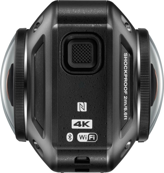 Nikon KeyMission 360, side