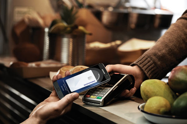 Samsung Pay: Image Courtesy of Samsung