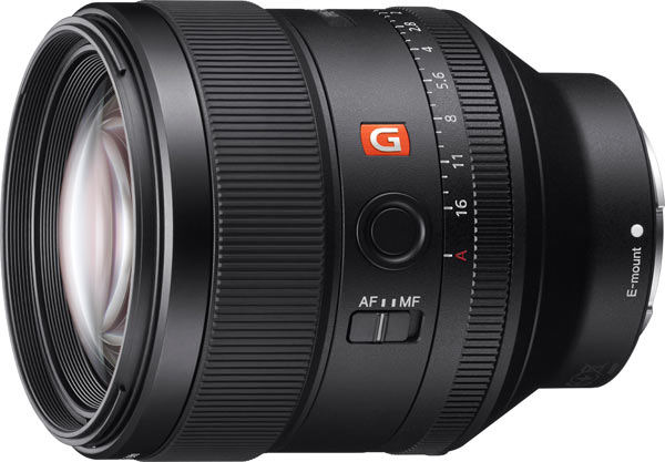 Sony FE 85mm F1.4 GM Telephoto Prime Lens