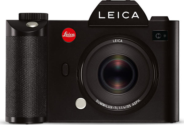 Leica SL camera with Leica Summilux-TL 35 mm f/1.4 ASPH. lens, black
