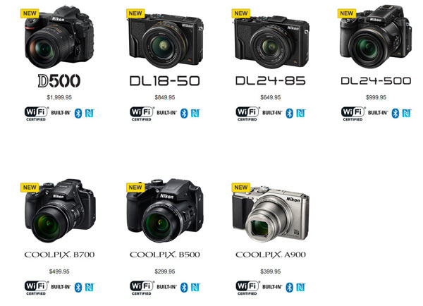 Nikon Cameras That Use the Snapbridge App