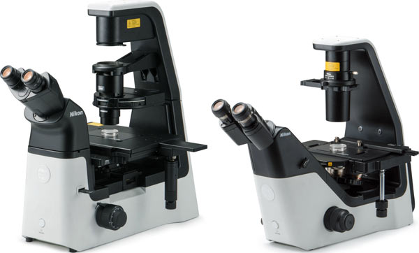 Nikon ECLIPSE Ts2R (left) and ECLIPSE Ts2 (right) win the iF Gold Award