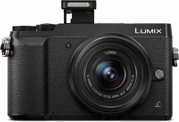 Panasonic LUMIX DMC-GX80/GX85 (Black), pop-up flash