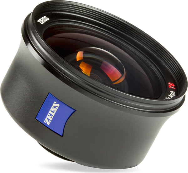 ExoLens with ZEISS Mutar 0.6x Asph T* Wide-Angle Lens