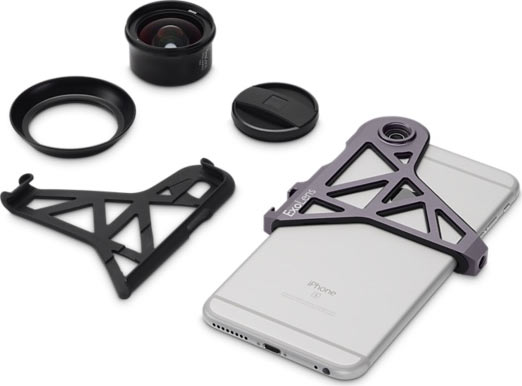 ExoLens with Optics by ZEISS Wide-Angle Lens for iPhone 6 Plus/6s Plus