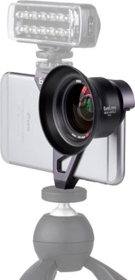 ExoLens with Optics by ZEISS Wide-Angle Lens for iPhone 6 Plus/6s Plus: With accessories