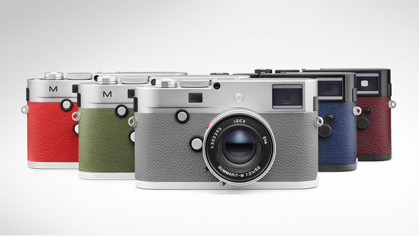 Leica M à la Carte: Camera body finishes and leather trim options