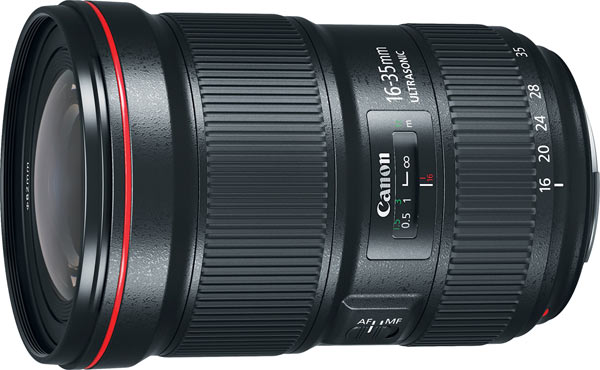 Canon EF 16-35mm f/2.8L III USM Ultra-Wide Zoom