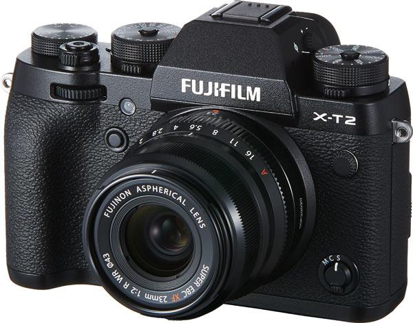 Fujinon XF23mmF2 R WR with X-T2