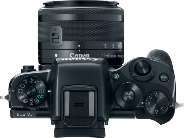 Canon EOS M5 with Canon EF-M 15-45mm/F3.5-6.3 IS STM lens