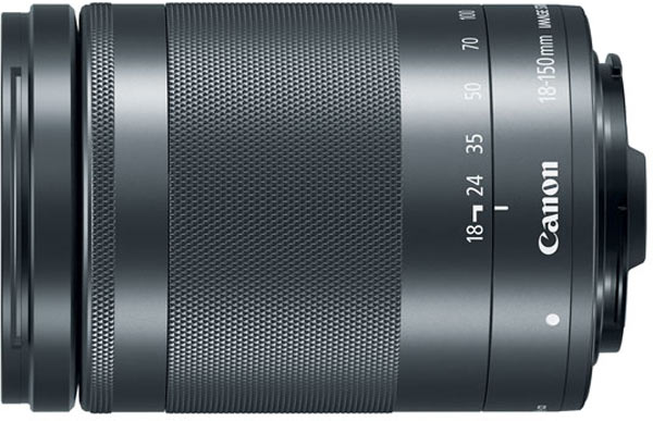 Canon EF-M 15-45mm/F3.5-6.3 IS STM lens, graphite