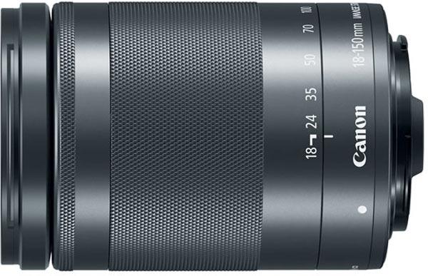 Canon EF-M 15-45mm/F3.5-6.3 IS STM lens, graphite