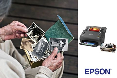 Epson FastFoto FF-640: Preserve precious memories for generations to come with the new FastFoto FF-640.
