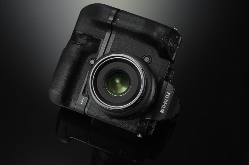Fujifilm GFX 50S with optional Vertical Battery Grip