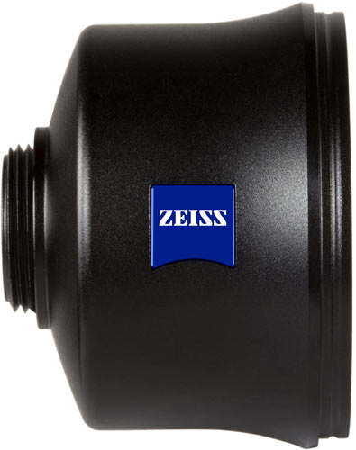 """ZEISS Mutar 2.0x Asph T* telephoto """"Excellent for portraits"""": the ZEISS Mutar 2.0x Asph T* telephoto lens with aspheric element."""