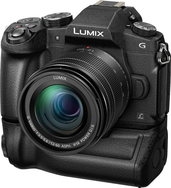 Panasonic G85 with optional Battery Grip DMW-BGG1