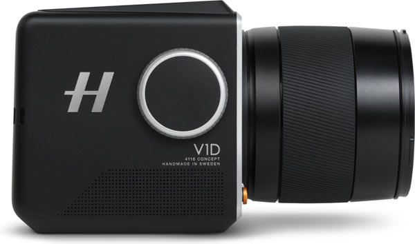 Hasselblad V1D 4116, side view
