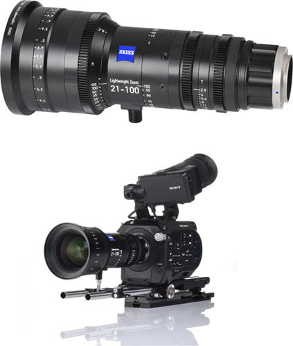 With a focal length range of 21-100mm, the ZEISS LWZ.3 21-100mm/T2.9-3.9 T* is a versatile tool for many different film applications.