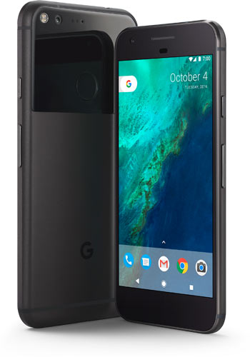 Pixel, Phone by Google: Quite Black color