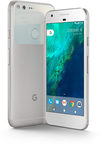 Pixel, Phone by Google: Very Silver color