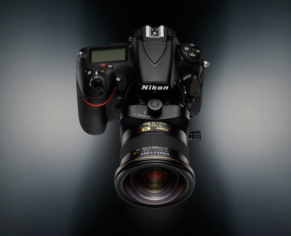 PC NIKKOR 19mm f/4E ED lens + Nikon D810 camera