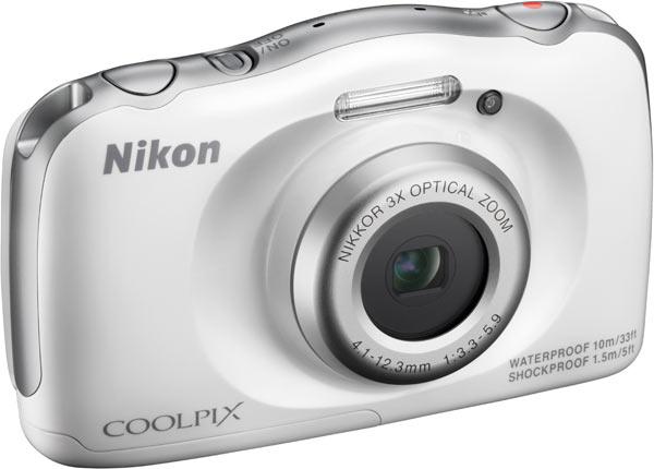 Nikon COOLPIX S33, white colour