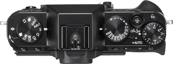 FUJIFILM X-T20 (Black) top view