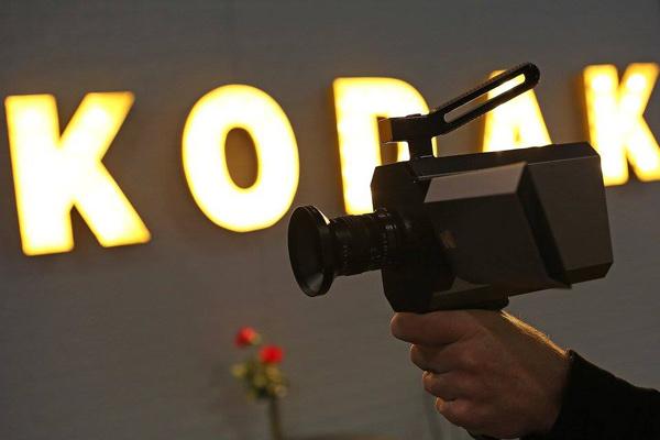 Kodak Super 8 Cine Camera, midnight black color