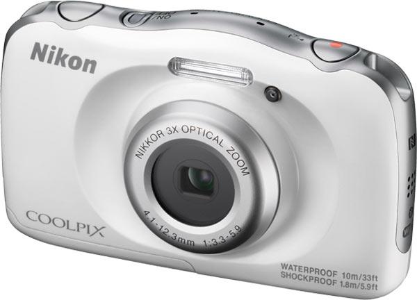 Nikon COOLPIX W100, white