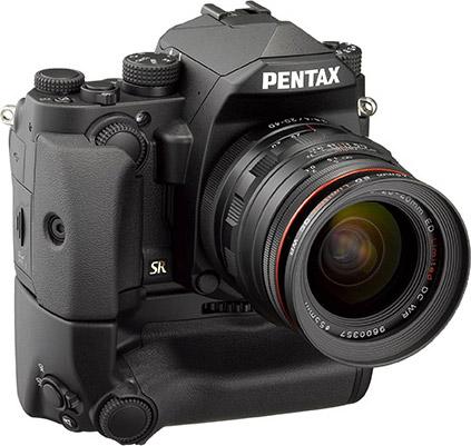 PENTAX KP, black: D-BG7 Battery Grip