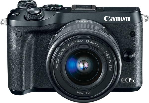 Canon EOS M6, black