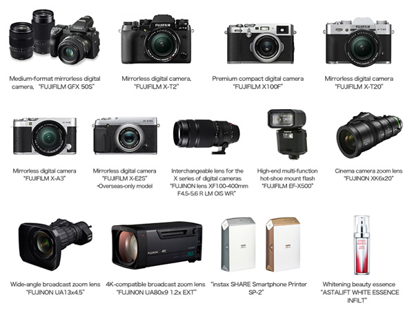 Fujifilm's Award Winning Products