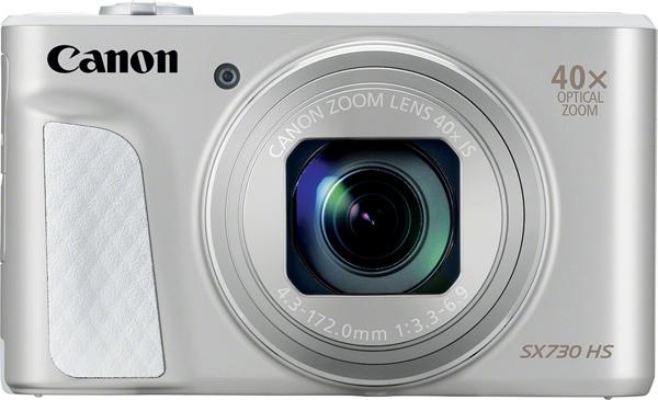 Canon PowerShot SX730 HS, silver color