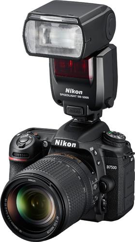 Nikon D7500 with Speedlight SB-5000