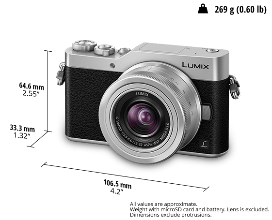 Panasonic LUMIX GX850, silver