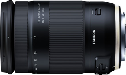 Tamron 18-400mm F3.5-6.3 Di II VC HLD (Model B028): Canon Mount model