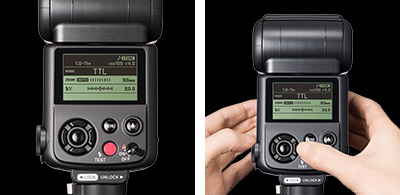 Sigma EF630 Flash: Intuitive user interface for ease of use