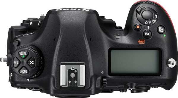 Nikon D850 (Top view)